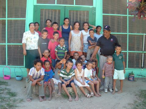 Children and Staff of Majken Broby Childrens Home